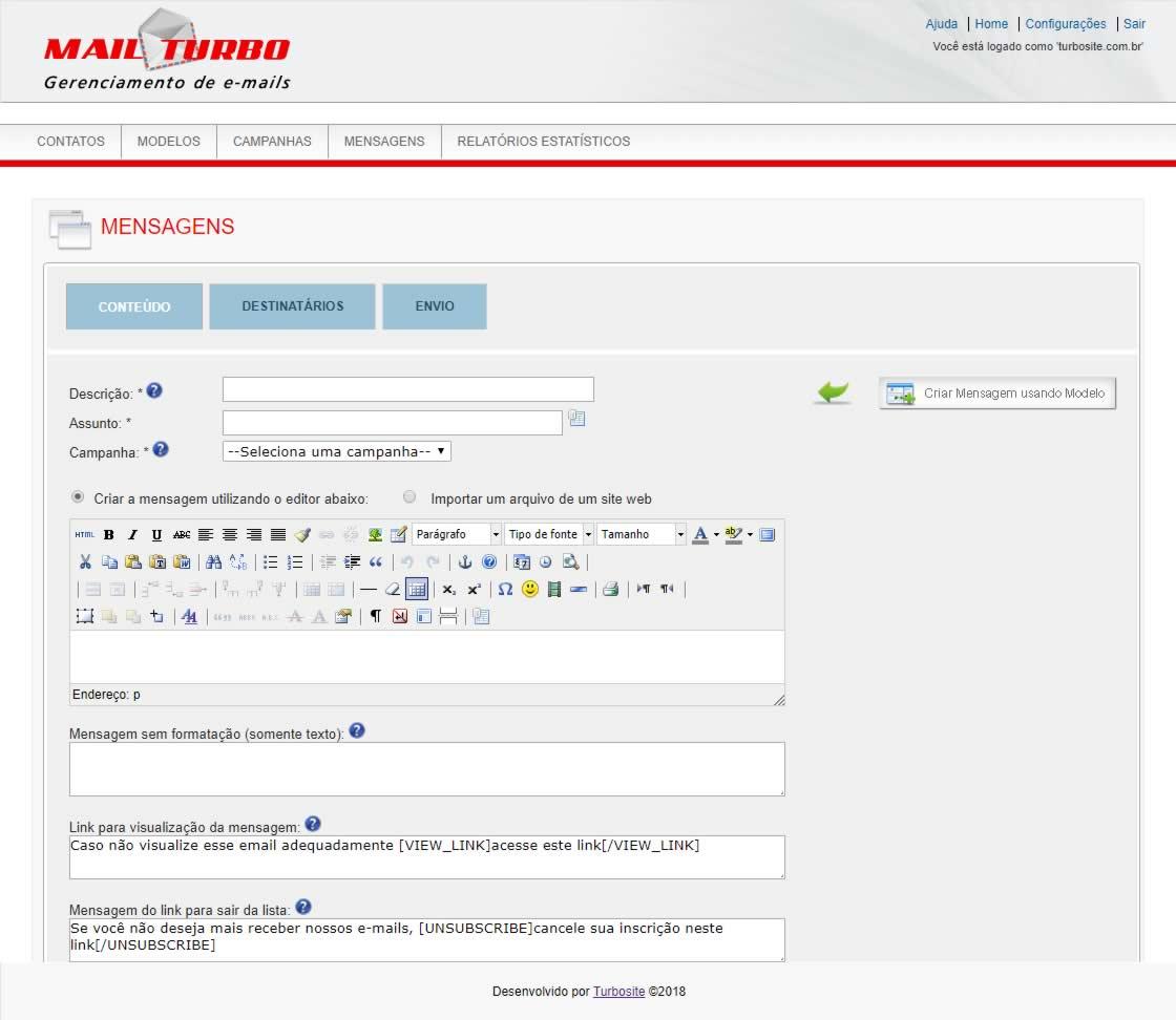 TWI E-mail Marketing Conteúdo